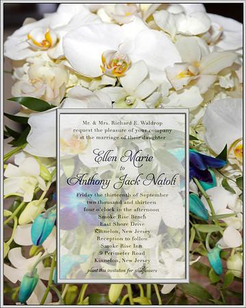Invite & Flowers
